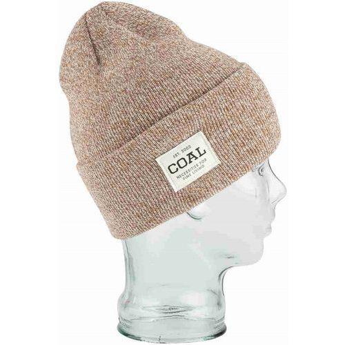 czapka zimowa COAL - The Uniform Light Brown Marl (12) rozmiar: OS, kolor brązowy