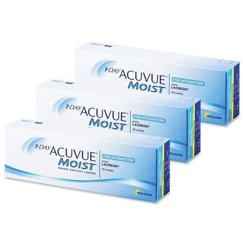1 day acuvue moist for astigmatism 90 szt marki Johnson & johnson