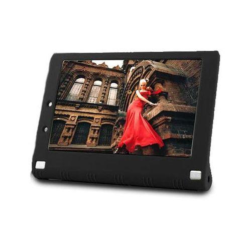 Etui silikonowe do Lenovo Yoga 2 1050 - Czarny, kolor czarny
