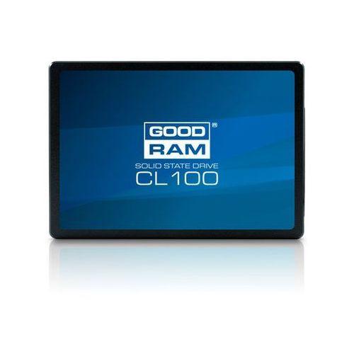 SSD GOODRAM CL100 120GB SATA III 2,5 RETAIL SSDPR-CL100-120 - odbiór w 2000 punktach - Salony, Paczkomaty, Stacje Orlen (5908267922439)