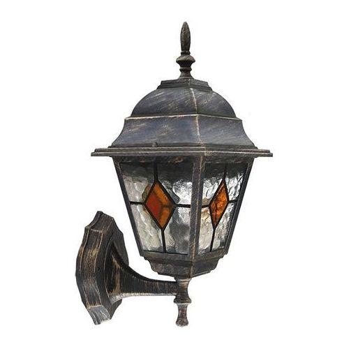 Zewnętrzna LAMPA ścienna MONACO 8182 Rabalux IP43 KINKIET OPRAWA elewacyjna outdoor złoto antyczne z kategorii Lampy ogrodowe