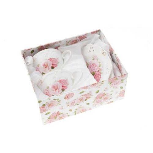 2 filiżanki z porcelany do kawy herbaty róże nowe marki Fusaichi pegasus