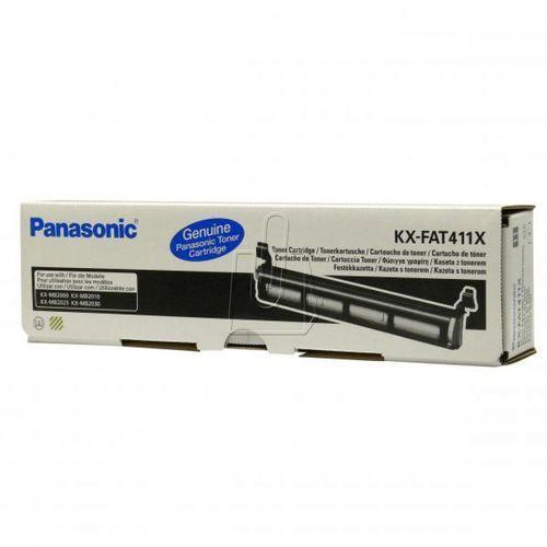 Panasonic oryginalny toner KX-FAT411E, black, 2000s, Panasonic KX-MB2000, 2010, 2025, 2030, 2061