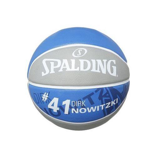 Spalding NBA PLAYER Piłka do koszykówki grau/royal z kategorii koszykówka