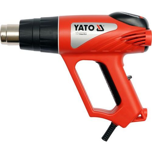 Opalarka 2000w 70~600°c akcesoria, wyświetlacz lcd / YT-82293 / YATO - ZYSKAJ RABAT 30 ZŁ (5906083822933)