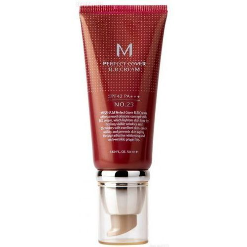 Missha m perfect cover krem bb z wysoką ochroną uv odcień no. 23 natural beige spf42/pa+++ 50 ml (8806333353736)