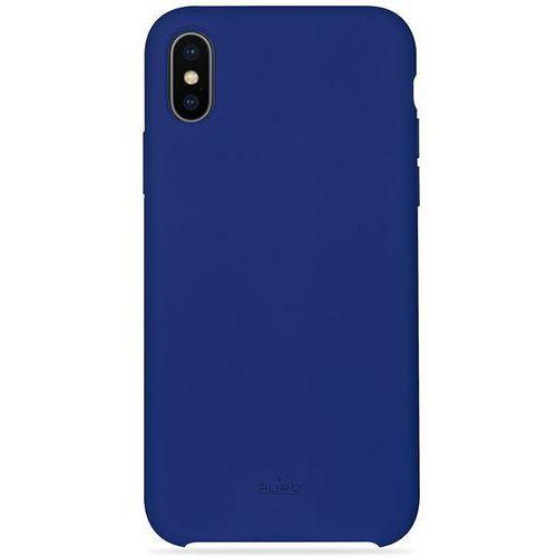 Etui icon cover apple iphone x niebieski marki Puro