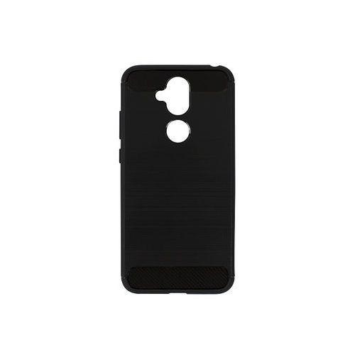 Nokia 8.1 - etui na telefon Forcell Carbon - czarny
