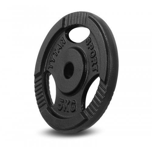 Tytan sport Obciążenie żeliwne kierownica 5 kg