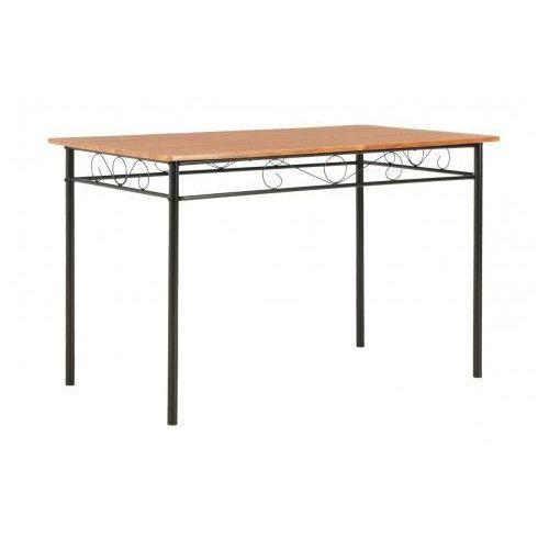 Elior Stół do jadalni nowoczesny barex – brązowy