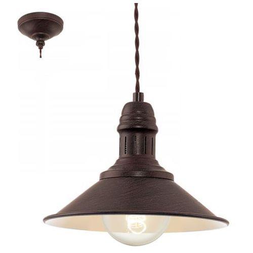 Eglo Lampa wisząca stockbury, 49455