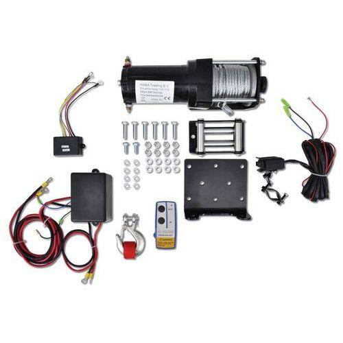 wciągarka elektryczna 12 v (1360 kg) sterowanie bezprzewodowe marki Vidaxl
