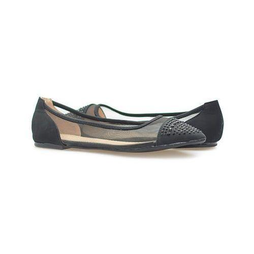 Baleriny Vices Y419-1 Czarne, kolor czarny