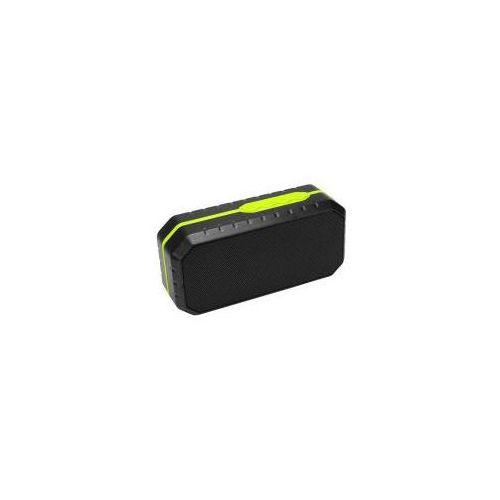 Art głośnik bt z mikrofonem, fm, sd, wodoodporny 3w limon (5902115404627)