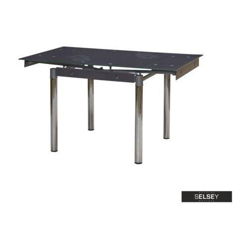 Selsey stół rozkładany grevinge 80-131x80 cm grafitowy marki Signal