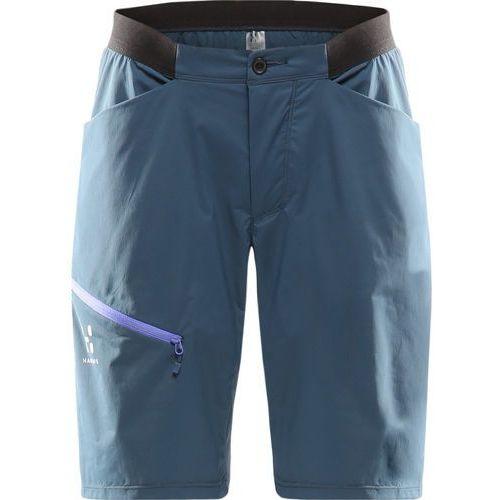 l.i.m fuse spodnie krótkie kobiety niebieski 34 2017 szorty syntetyczne, Haglöfs