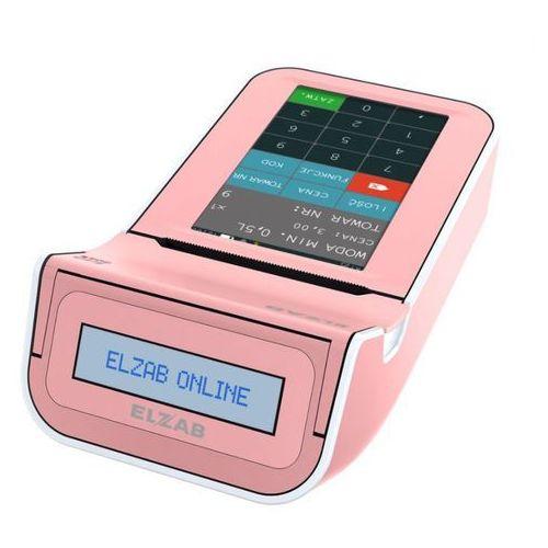 Kasa fiskalna k10 online bt/ gprs różowa marki Elzab