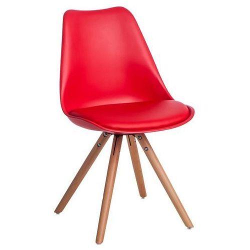 D2.design Krzesło norden star pp czerwone 1613 - czerwony