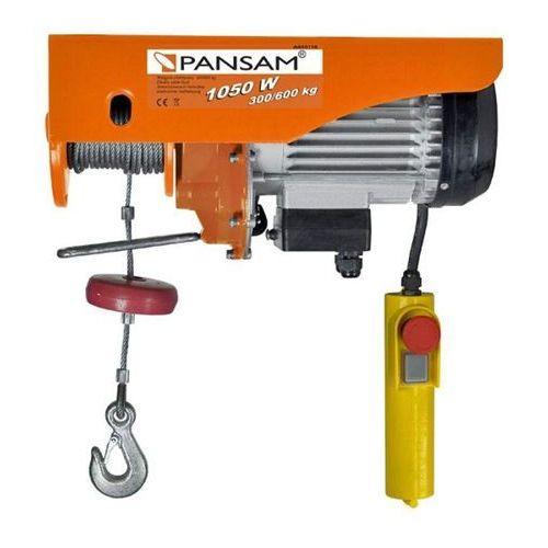 Pansam a045110 wciągarka wyciągarka elektryczna linowa 1050w 600kg - oficjalny dystrybutor - autoryzowany dealer pansam (5902628786845)