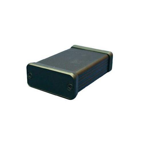 Obudowa uniwersalna Aluminium 220 x 103 x 53 mm, Hammond Electronics 1455N2201BK, 1 szt, kup u jednego z partnerów