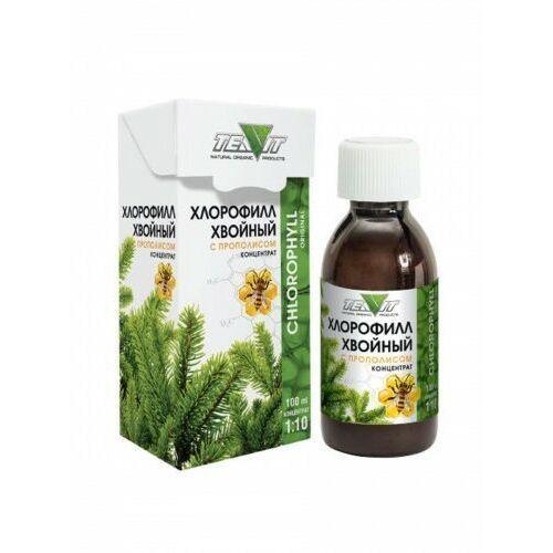 Teavit Chlorofil z propolisem płyn koncentrat 100 ml (4627088834189)