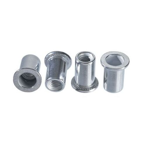 Topex Nitonakrętki aluminiowe 43e124 m4 (20 sztuk)