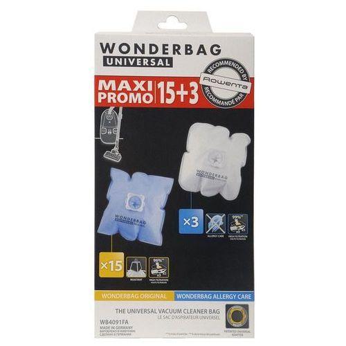 Rowenta worki do odkurzacza WB4091FA Wonderbag Original x 15 + Allergy care x3