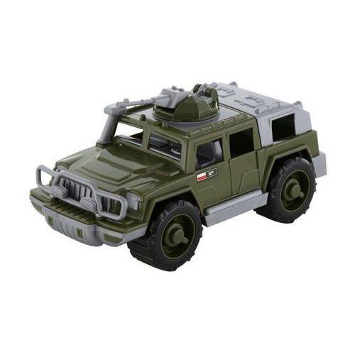 Wader-polesie Samochód jeep wojskowy obrońca z karabinem maszynowym