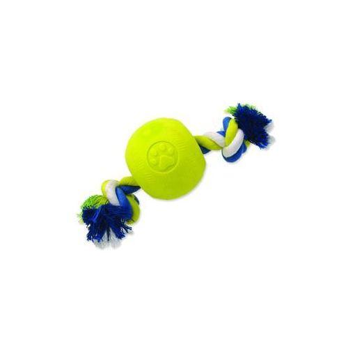 Zabawka dog fantasy strong foamed piłeczka gumowa na sznurze 8,2 cm marki Plaček