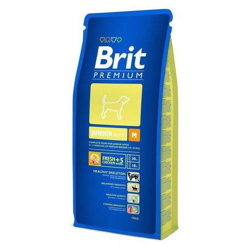 premium junior m 15 kg marki Brit