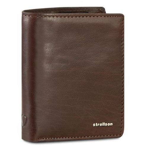 Duży Portfel Męski STRELLSON - Jefferson 4010001302 Dark Brown 702