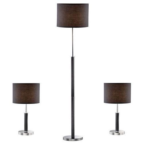 lampa nocna/stołowa barnett czarny 97031-3bl komplet marki Italux