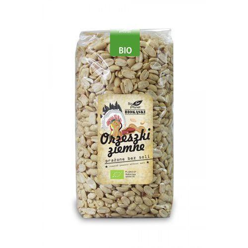Orzeszki ziemne prażone bez soli bio 1 kg - bio planet marki Bio planet - seria biokąski (przekąski)