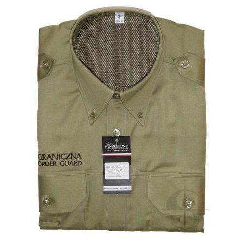 """Koszula służbowa Straży Granicznej """"POLISH BORDER GUARD"""" - długi rękaw"""