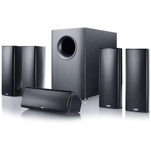 movie 365 czarny - zestaw głośników kina domowego | poczuj filmowe emocje! | raty 0% marki Canton