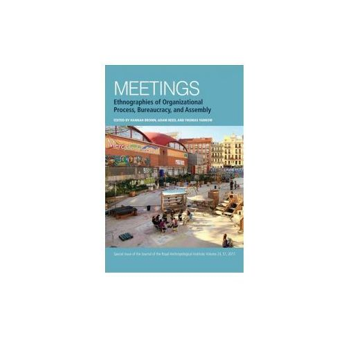Meetings: Ethnographies Of Organizational Process, Bureaucracy And Assembly