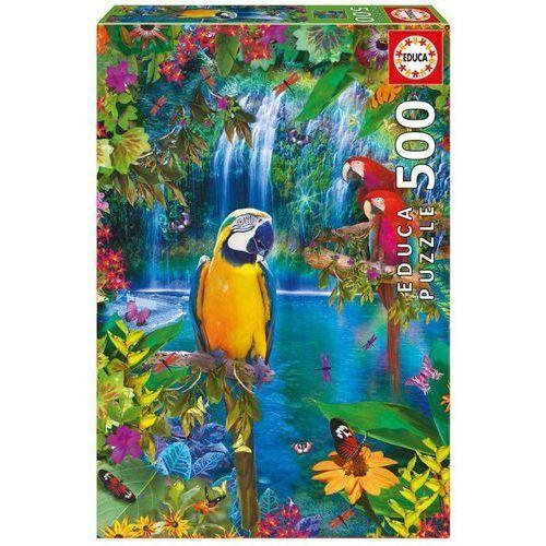 Educa Puzzle tropikalna kraina ptaków 500 el. (8412668155121)
