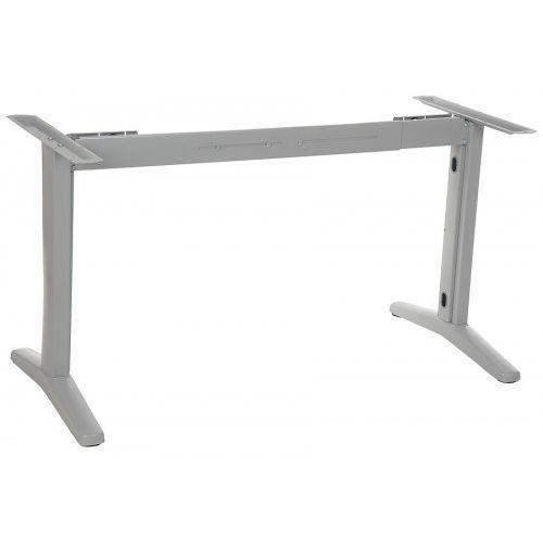 Stelaż metalowy stołu (biurka) z rozsuwaną belką STT-01, kolor aluminium - OKAZJE