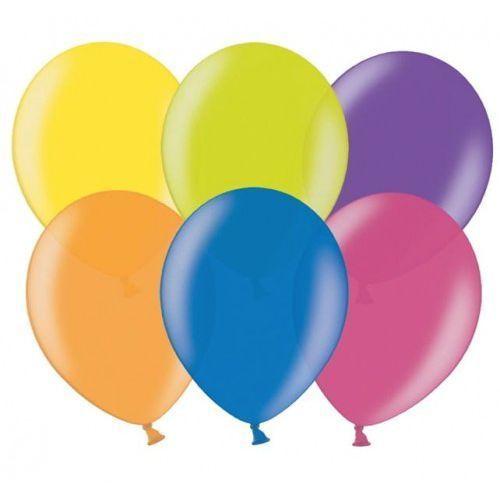 """Balony 12"""" Strong, mix kolorów metalicznych 100 szt. (5901157487032)"""