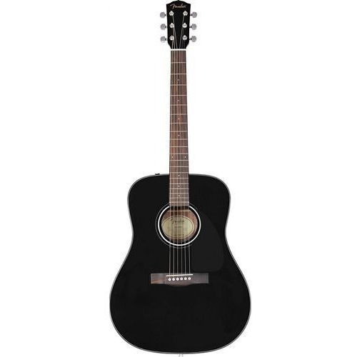 Fender CD-60S Dreadnought Black WN gitara akustyczna
