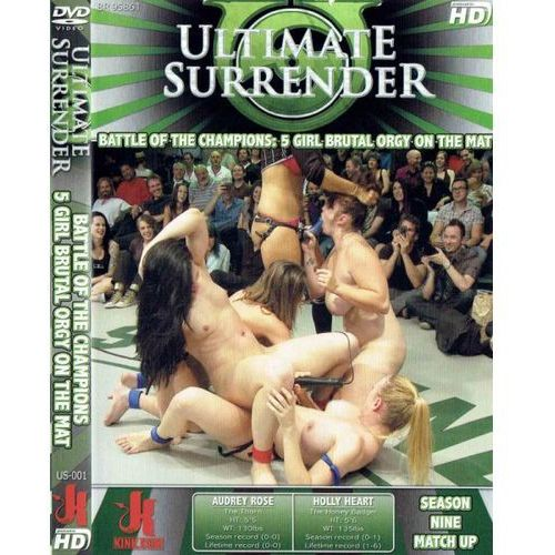 Boss of toys Dvd-ultimate surrender battle of the champions: 5 girl brutal orgy on the mat
