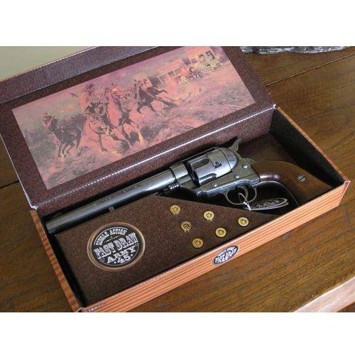 Hiszpania Colt peace maker z długą lufą z 1873 zestaw (k1064-1wp)