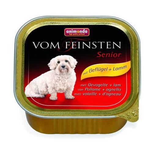 ANIMONDA Vom Feinsten Senior: drób i jagnięcina 150g (karma dla psa)