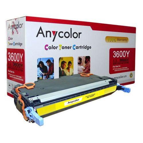 Toner hp clj 3800 cp3505, canon lbp5360 żółty q7582a 6k marki Anycolor