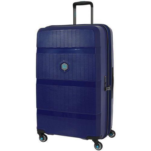 zip2 walizka duża poszerzana antywłamaniowa 81 cm / jazz blue - jazz blue marki Bg berlin