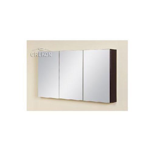Gante Szafka wisząca z lustrem fks-wp-wl120/65 fokus wenge połysk