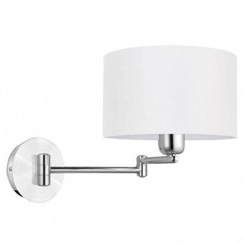 Kinkiet lampa ścienna halva 88563 abażurowa oprawa klasyczna regulowana na wysięgniku kremowa marki Eglo