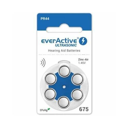 Everactive 600 x baterie do aparatów słuchowych ultrasonic 675