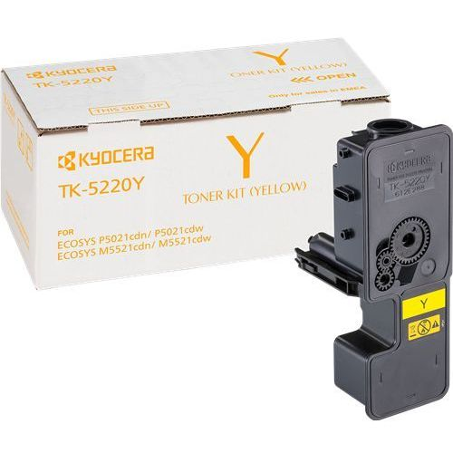 Kyocera toner Yellow TK-5220Y, TK5220Y, 1T02R9ANL1 - produkt z kategorii- Pozostałe