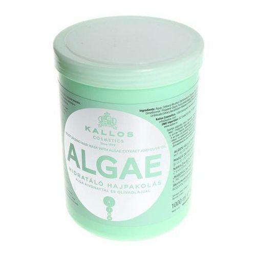 Kallos KJMN maseczka nawilżająca z wyciągiem z alg i olejem z oliwek (Algae Moisturizing Hair Mask with Algae Extract and Olive Oil) 1000 ml